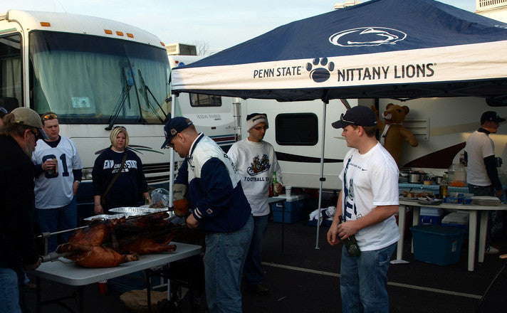 Tailgating requires practice