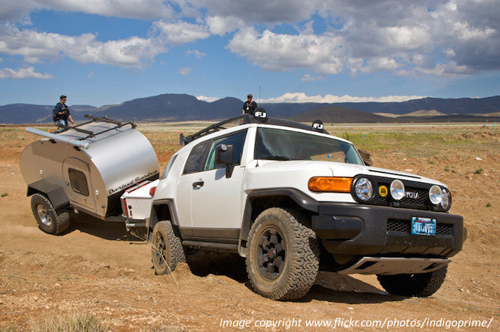 Offroad trailer pulling