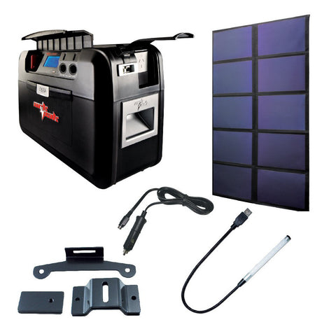 60 watts ArkPak 715 Solar Bundle