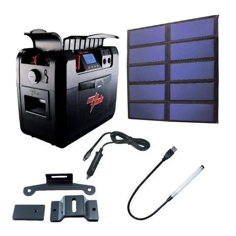 30 watts ArkPak 730 Solar Bundle