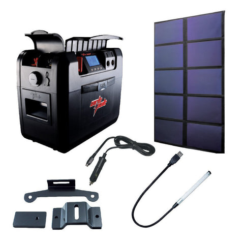 60 watts ArkPak 730 Solar Bundle
