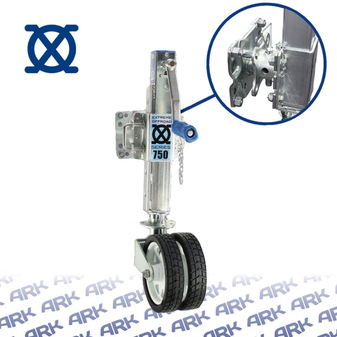 XO Tube Mount Trailer Jack 750
