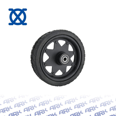 Trailer Jack Spare Wheel - Black
