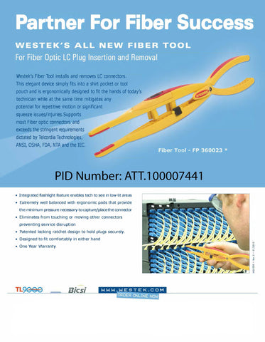 Fiber Puller Insertion and Removal Tool
