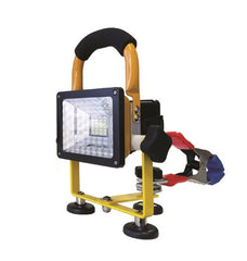900 LUMEN LED FLOOD LIGHT w/HAND CLAMP