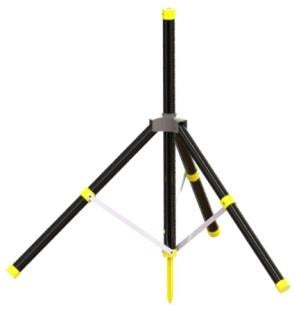 Workstation Tripod with retractable spike