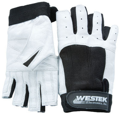 Westek Short Fingered Leather Gloves