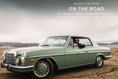 Belstaff X Mr. Porter : On the Road