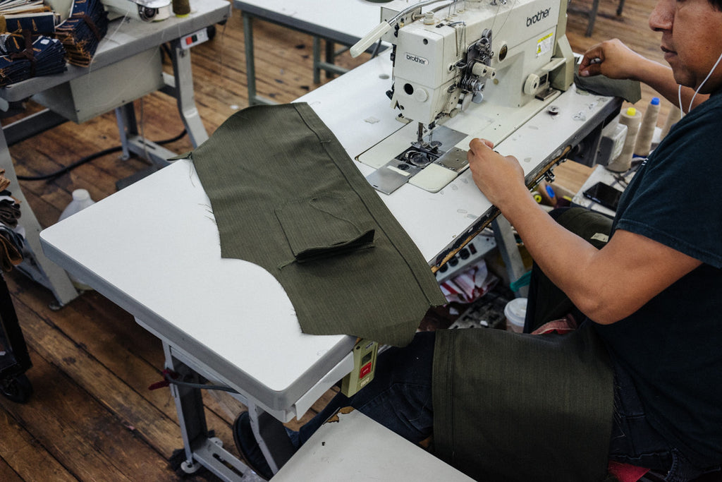 The Making of our Tradesman Shirt