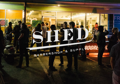 Shed Barber for Mos and Motos