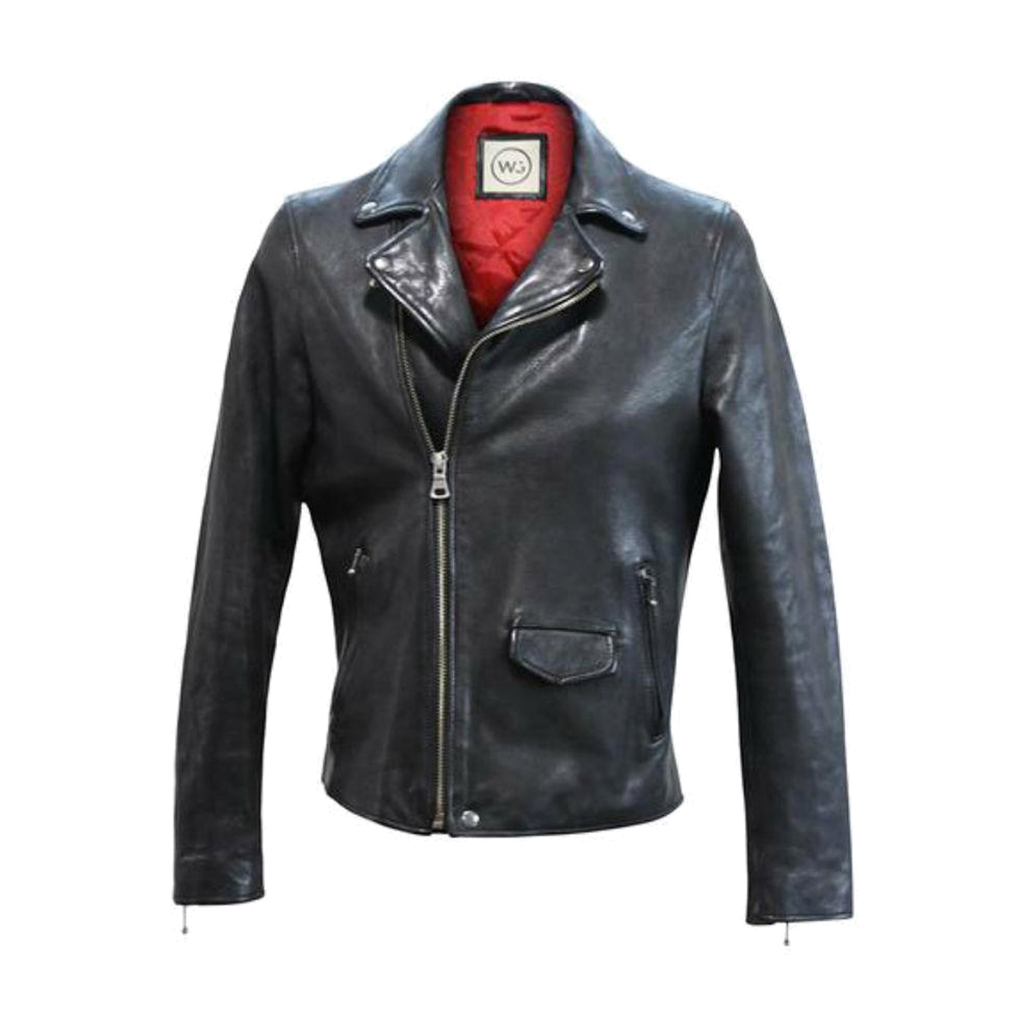 Brando Leather Jacket L Men's Clothing
