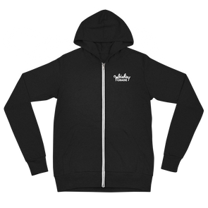 Hot Shot Zip Up Hoodie Black