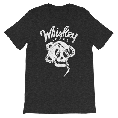Serpent Skull T-Shirt Dark Heather Grey