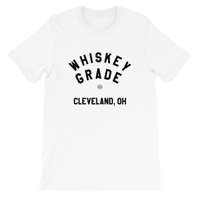 Whiskey Grade CLE T-Shirt White