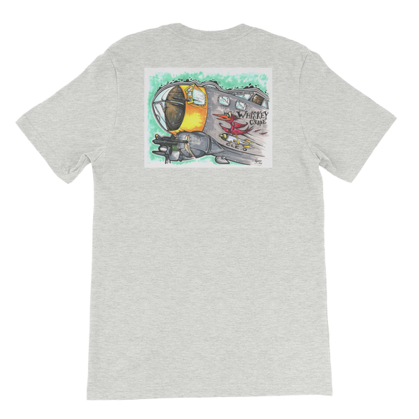 Nose Art T-Shirt Heather Grey