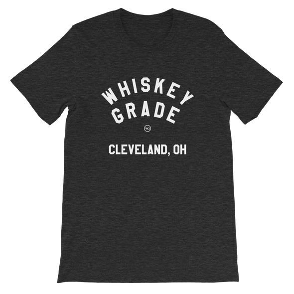 Whiskey Grade CLE T-Shirt Dark Heather