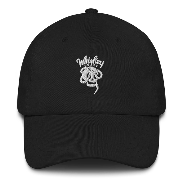 Serpent Skull Hat Black
