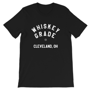 Whiskey Grade CLE T-Shirt Black