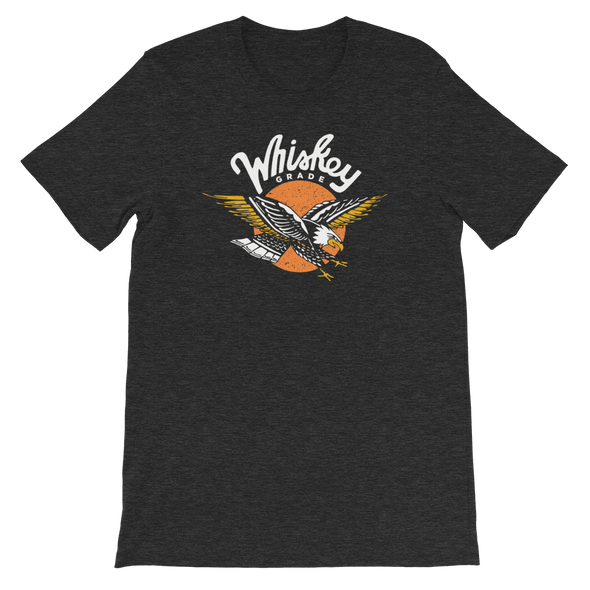 Rising Eagle T-Shirt Charcoal Heather