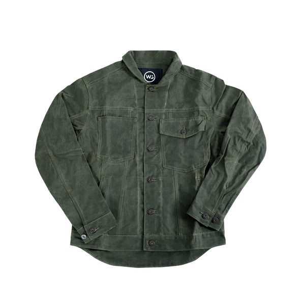 Type II Jacket Olive Waxed
