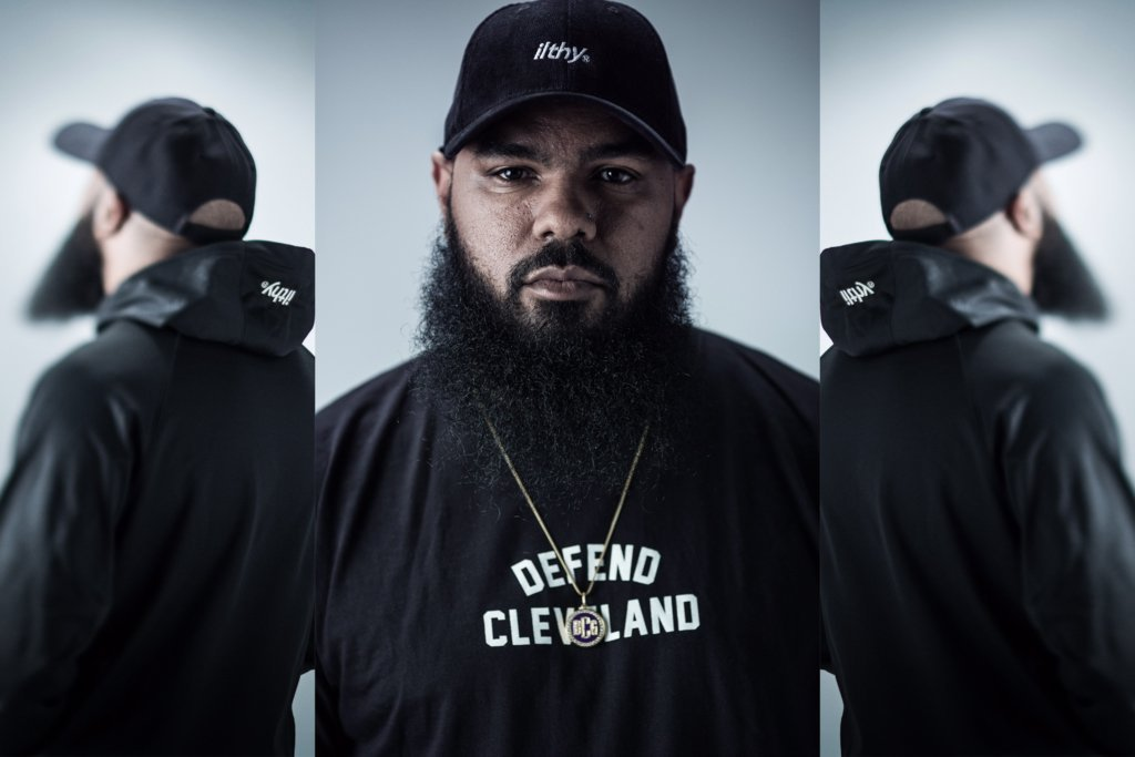 Stalley Defends Cleveland with Purple Films