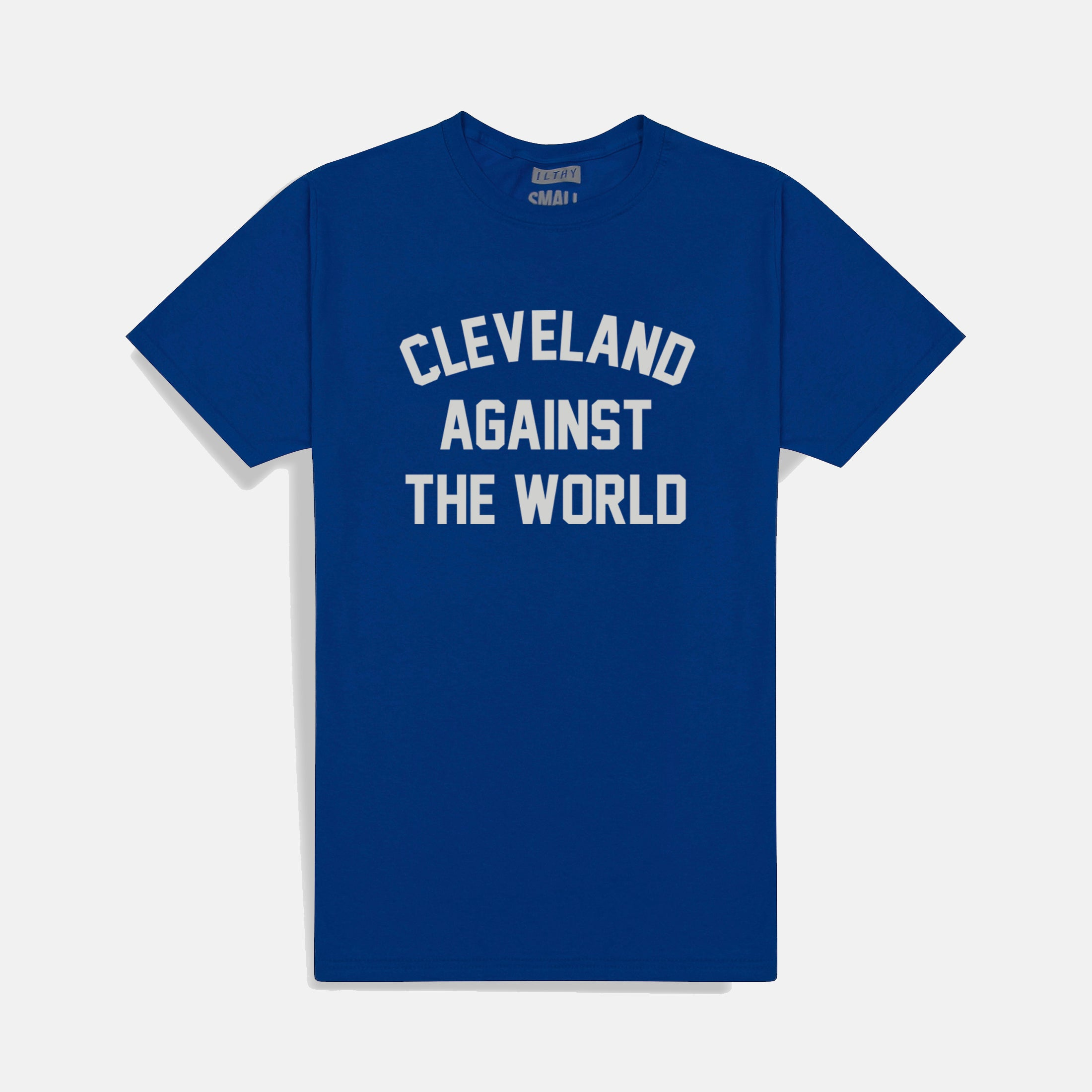Cleveland Against the World Royal T-Shirt