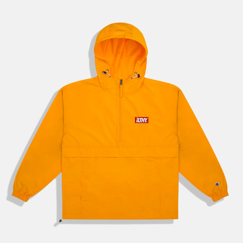 Block Logo Embroidered Champion Packable Jacket