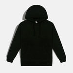 LOGO DRIP EMBROIDERED HOODIE (BLACK)