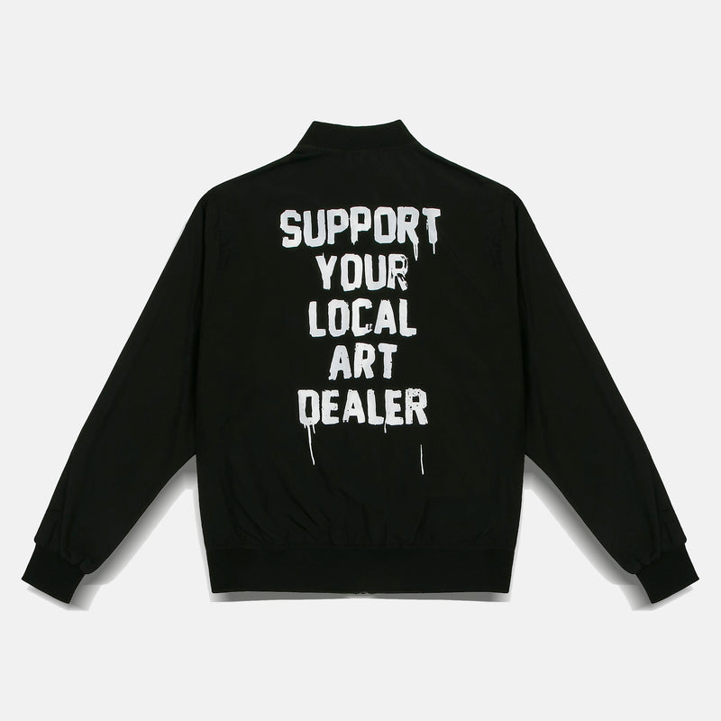 SUPPORT YOUR LOCAL ART DEALER BOMBER JACKET