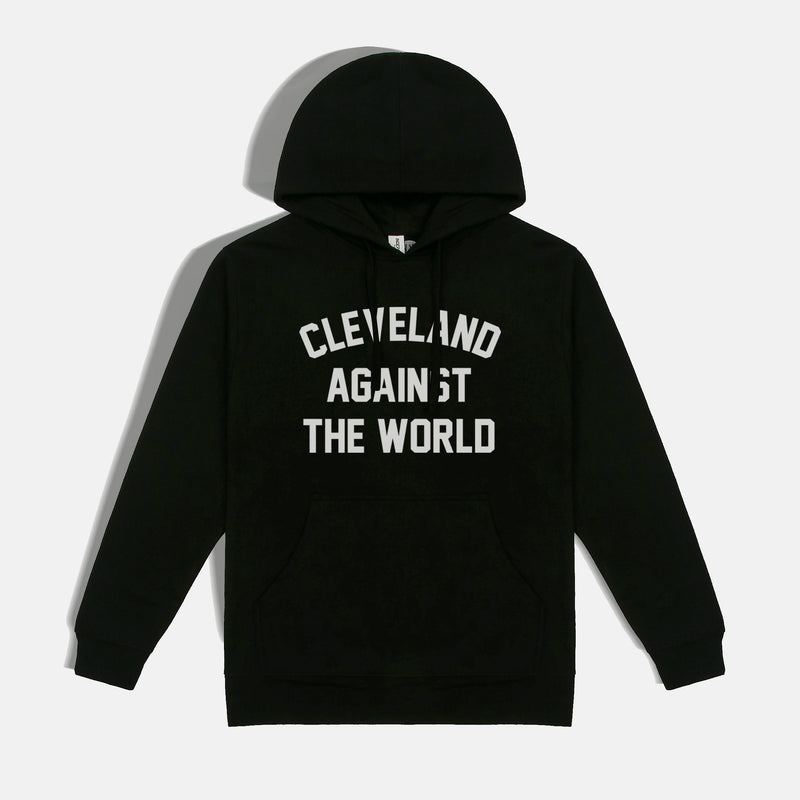 Cleveland Against the World Unisex Hoodie (Black)