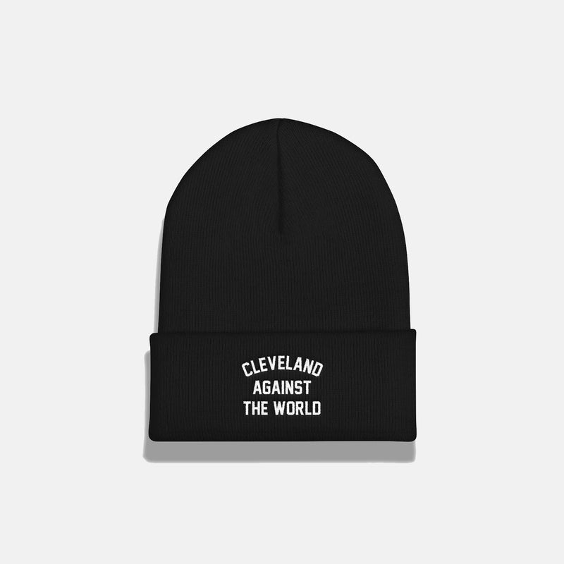 Cleveland Against the World Cuffed Beanie (colors)
