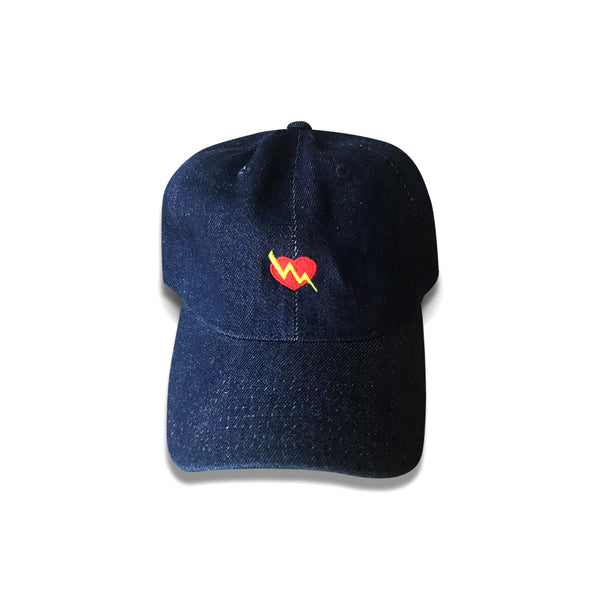 iLTHY Heart Logo Dad Hat (DENIM)