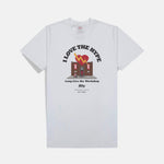 LONG LIVE THE WORKSHOP T-SHIRT (WHITE)