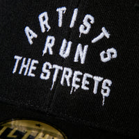 Artists Run The Streets Mid Crown Curved Bill Cap