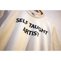 SELF TAUGHT ARTIST T-SHIRT (CREAM)