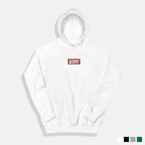ILTHY LOGO BLOCK EMBROIDERED HOODIE