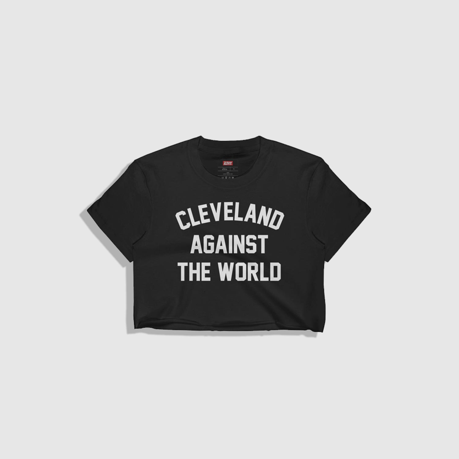 I Love Heart Cleveland Black Kids Sweatshirt