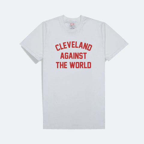 Cleveland Against the World T-Shirt (Red Print)