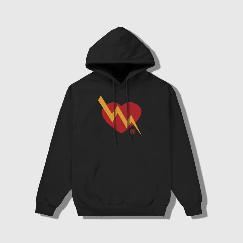 CLASSIC HEART LOGO HOODIE - ILTHY®