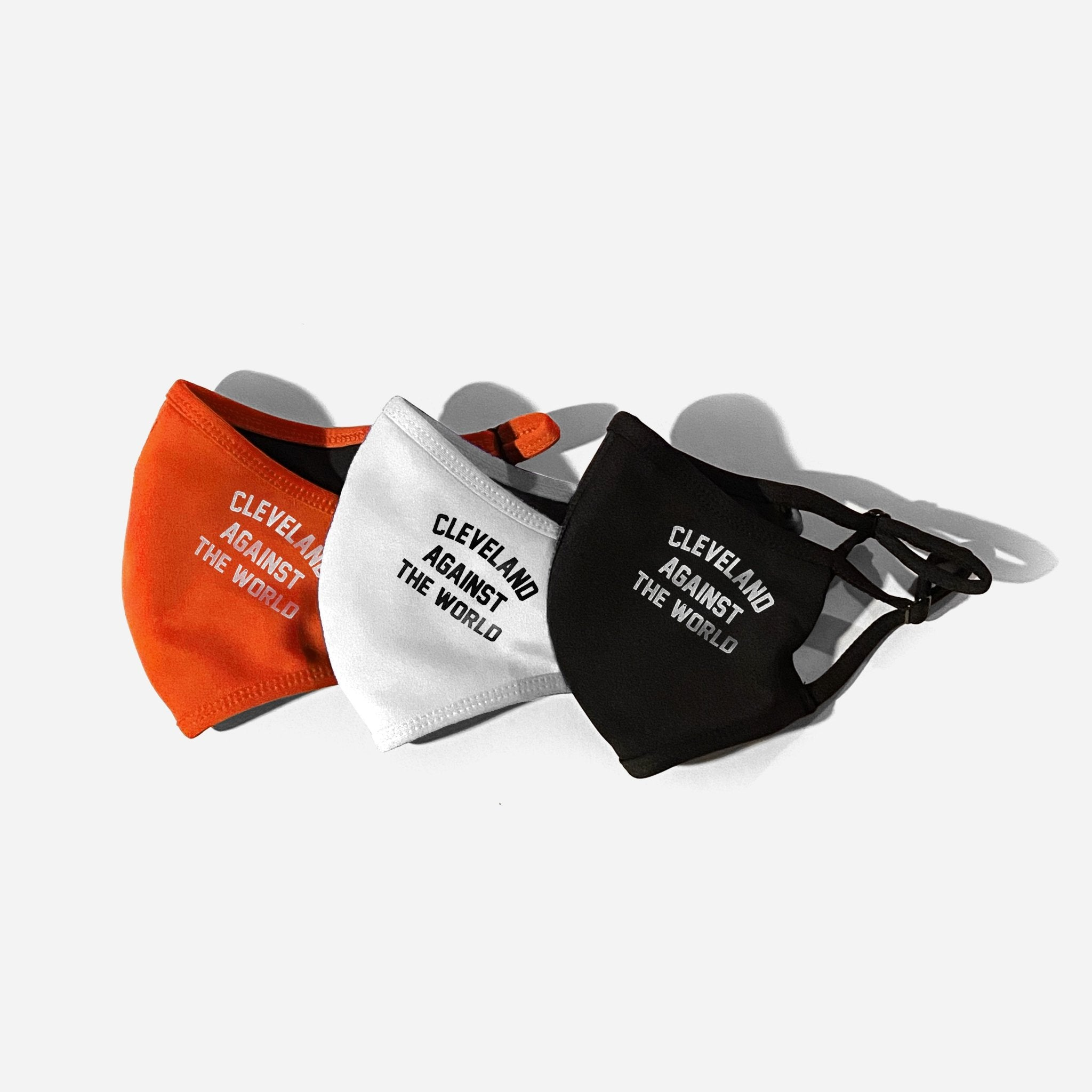 Cleveland Against the World V2 Mask (3-Pack) - ILTHY®