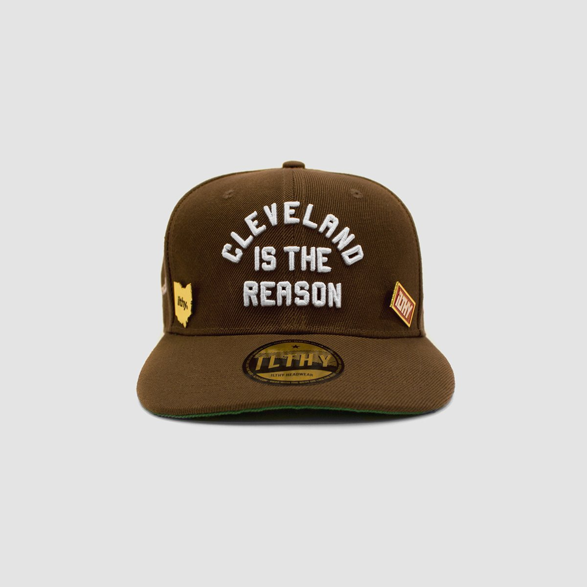 Cleveland is the Reason™ Cap (Brown) - ILTHY®