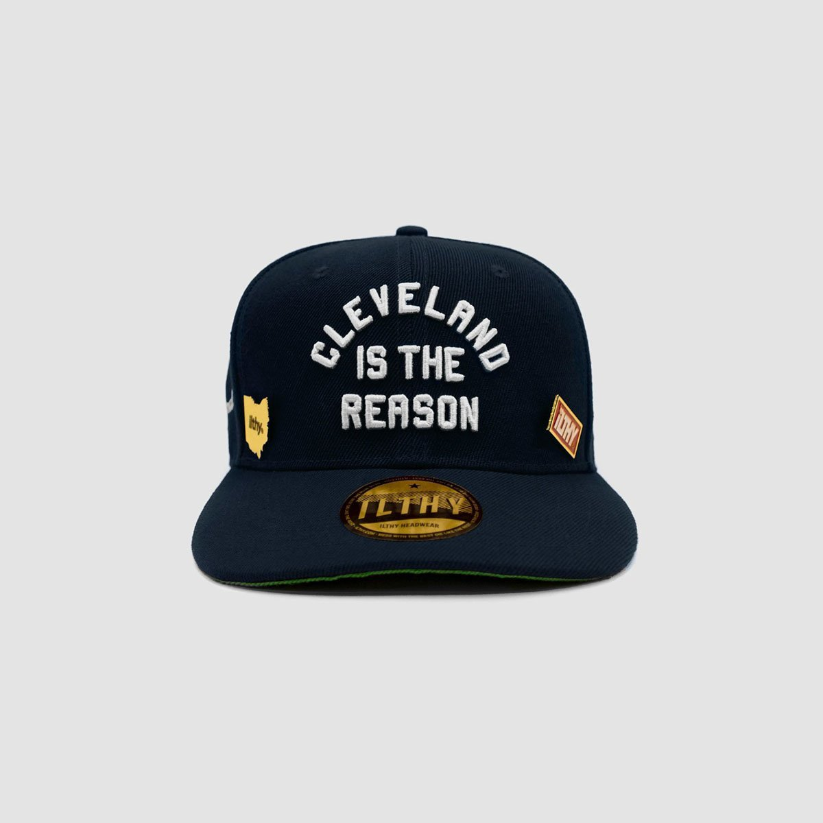Cleveland is the Reason™ Cap (Navy) - ILTHY®
