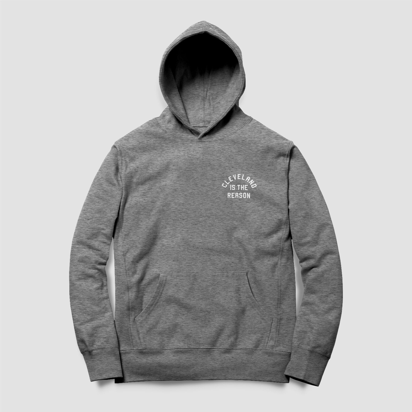 Cleveland is the Reason Hoodie (Heather Gray) - ILTHY®