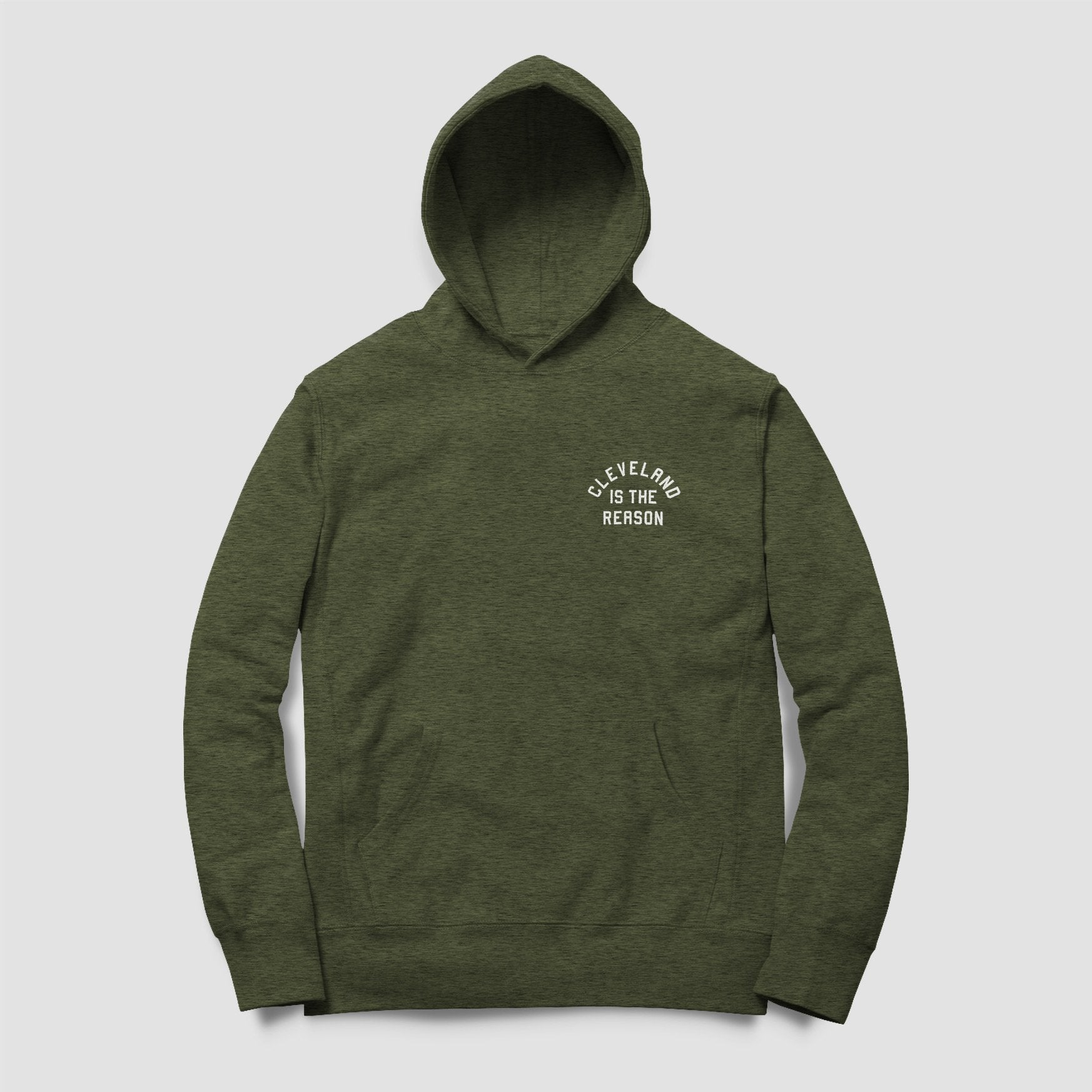 Cleveland is the Reason Hoodie (Hunter Green) - ILTHY®