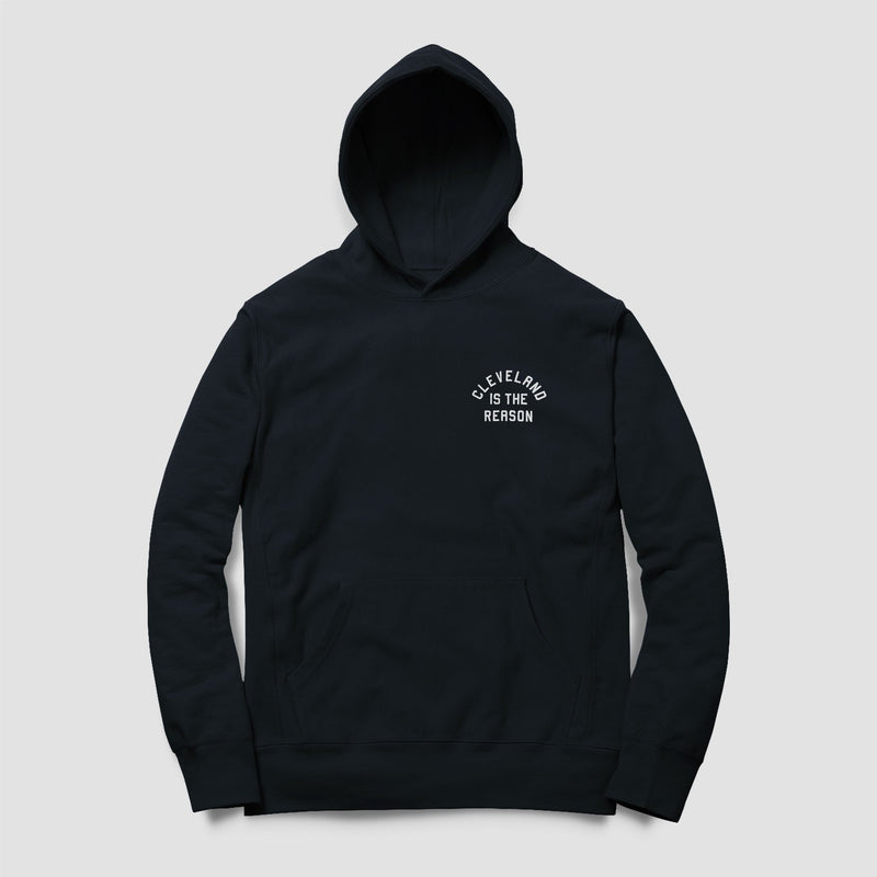 Cleveland is the Reason Hoodie (Navy) - ILTHY®