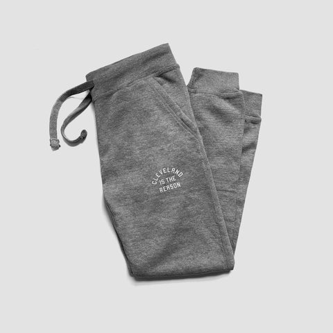 Cleveland is the Reason Joggers (Heather Gray) - ILTHY®