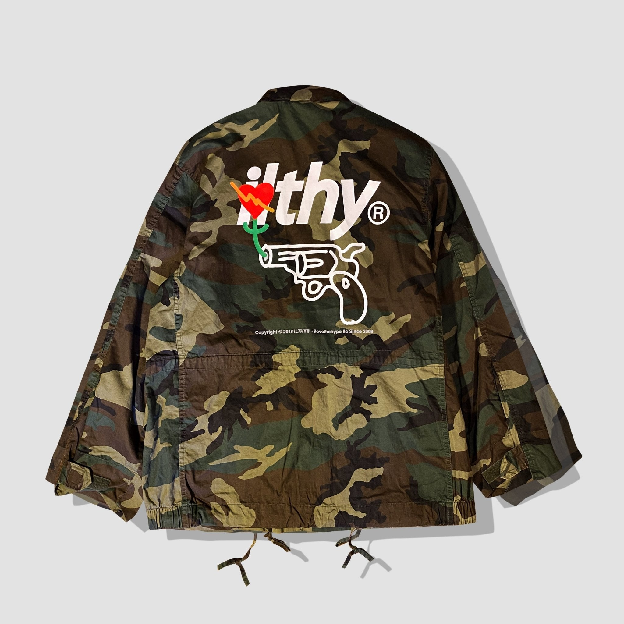 Friendly Fire Vintage Lightweight Camo M-65 Field Jacket - ILTHY®