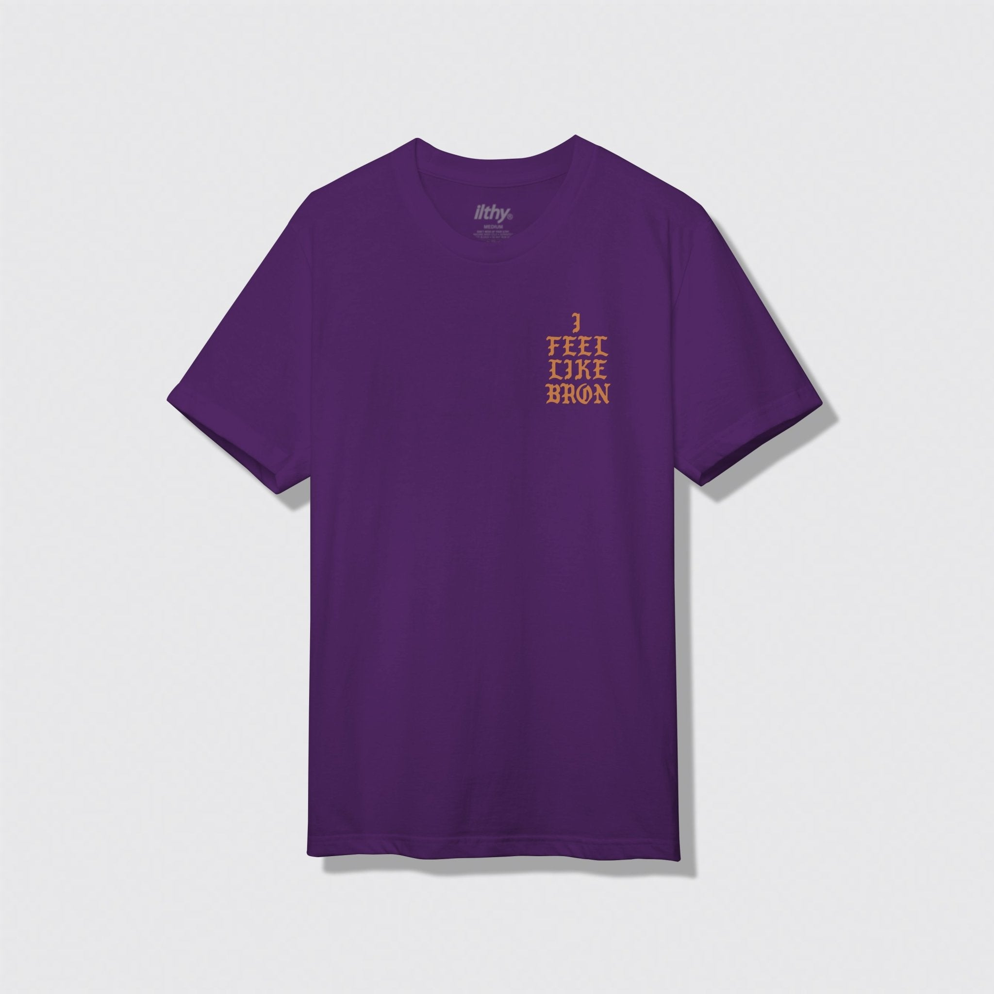 I Feel Like Bron Purple T-Shirt - ILTHY®