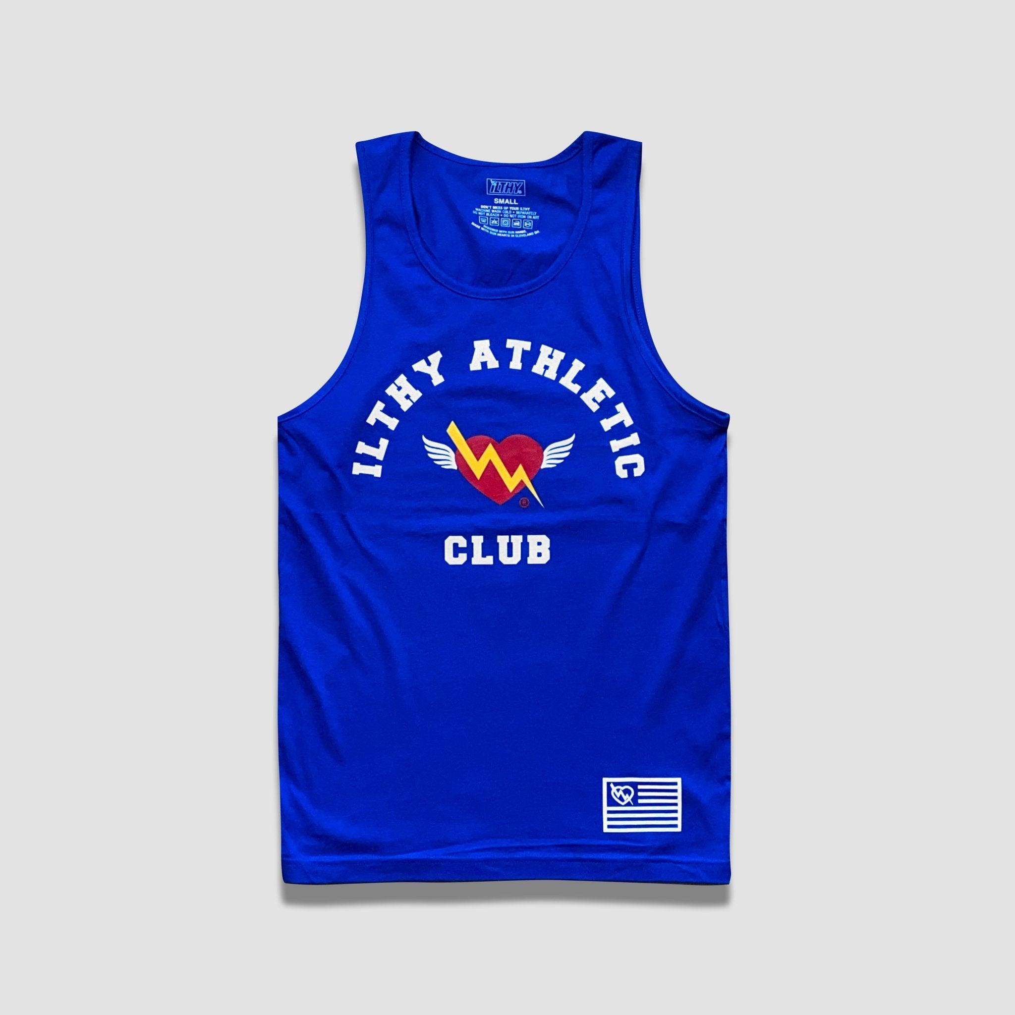 ILTHY Athletic Club Sport Tank (Blue) - ILTHY®