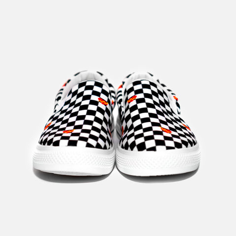 iLTHY Checkered Slip On Sneakers